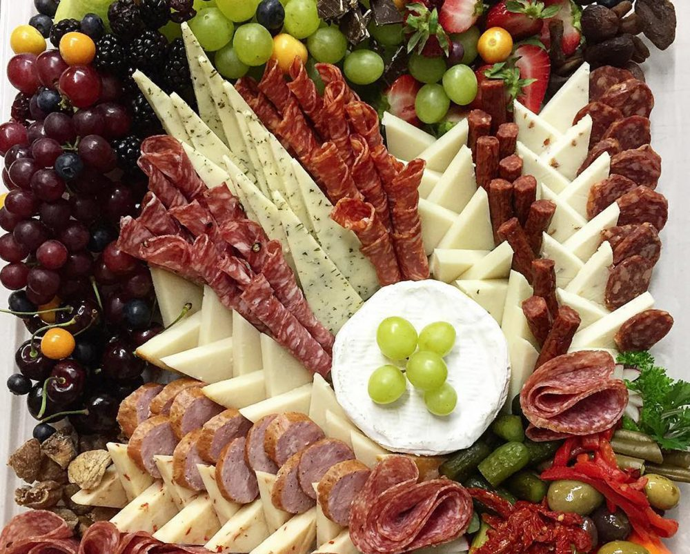 Charcuterie & Artisanal Cheese Platter